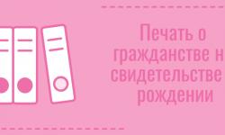 Как получить гражданство на новорожденного ребенка через госуслуги